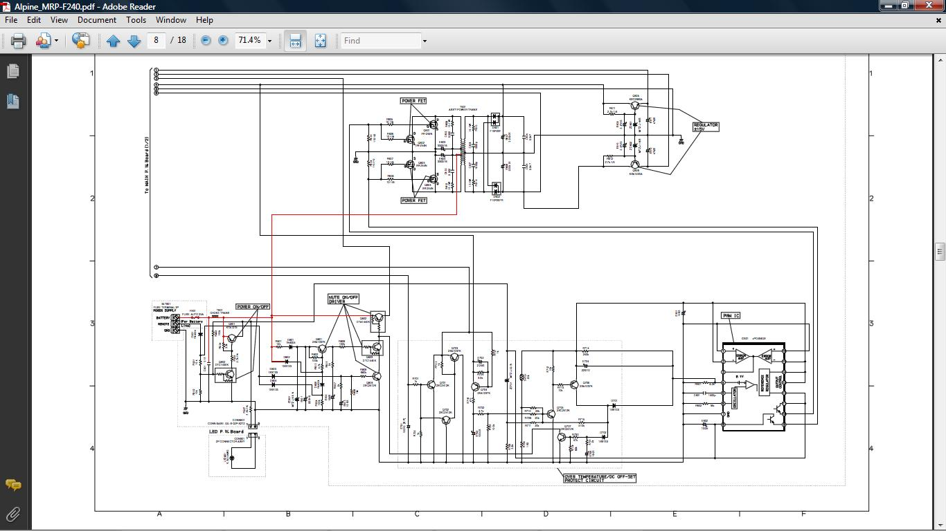 alpine mrp f240 wiring diagram   30 wiring diagram images