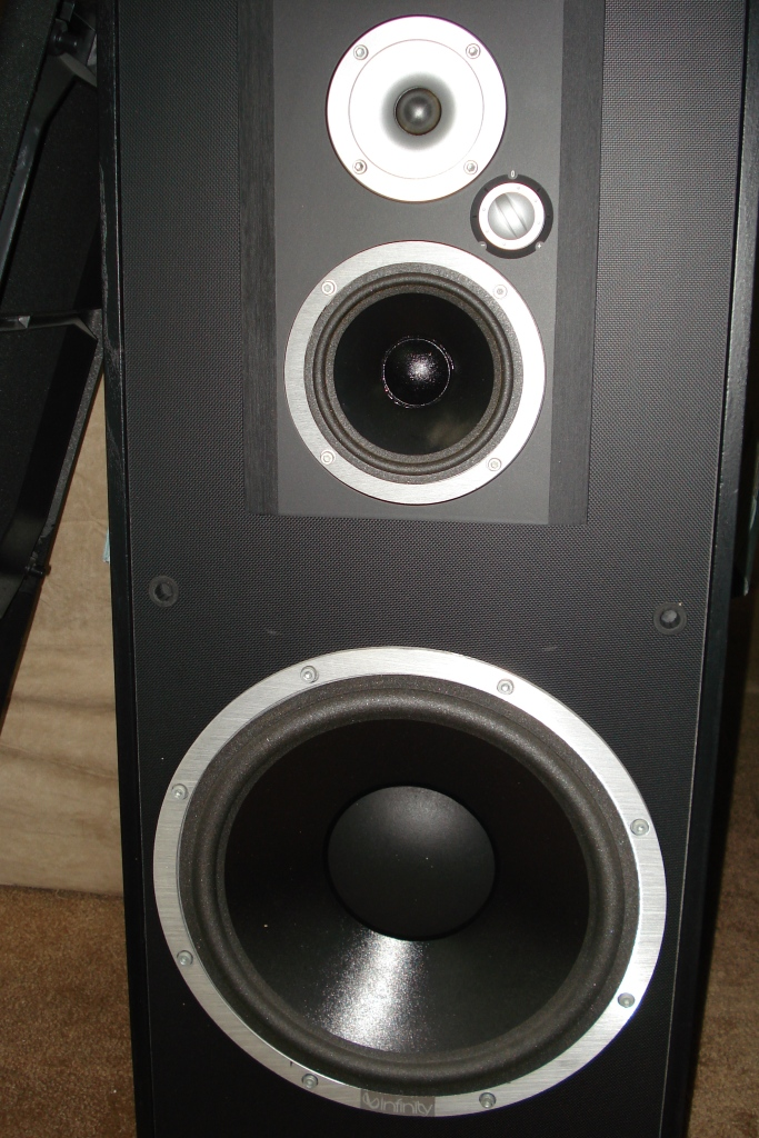 Infinity Studio Monitor 225 Xover Questions
