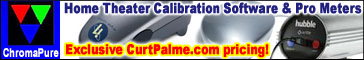 ChromaPure home theater calibration software and pro meters at CurtPalme.com exclusive pricing!