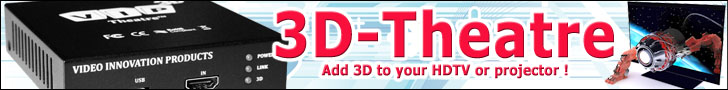 Add 3D to any TV or projector!