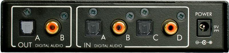 Felston DD740 Four-Input Digital Audio Delay