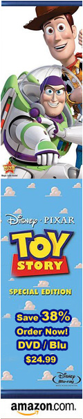 Toy Story on DVD and Blu-ray