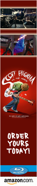 Order Scott Pilgrim vs the World on Blu-ray!